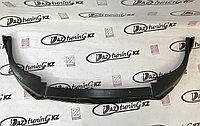 Сплиттер (накладка) переднего бампера «Барс» Лада Приора SE, фото 1