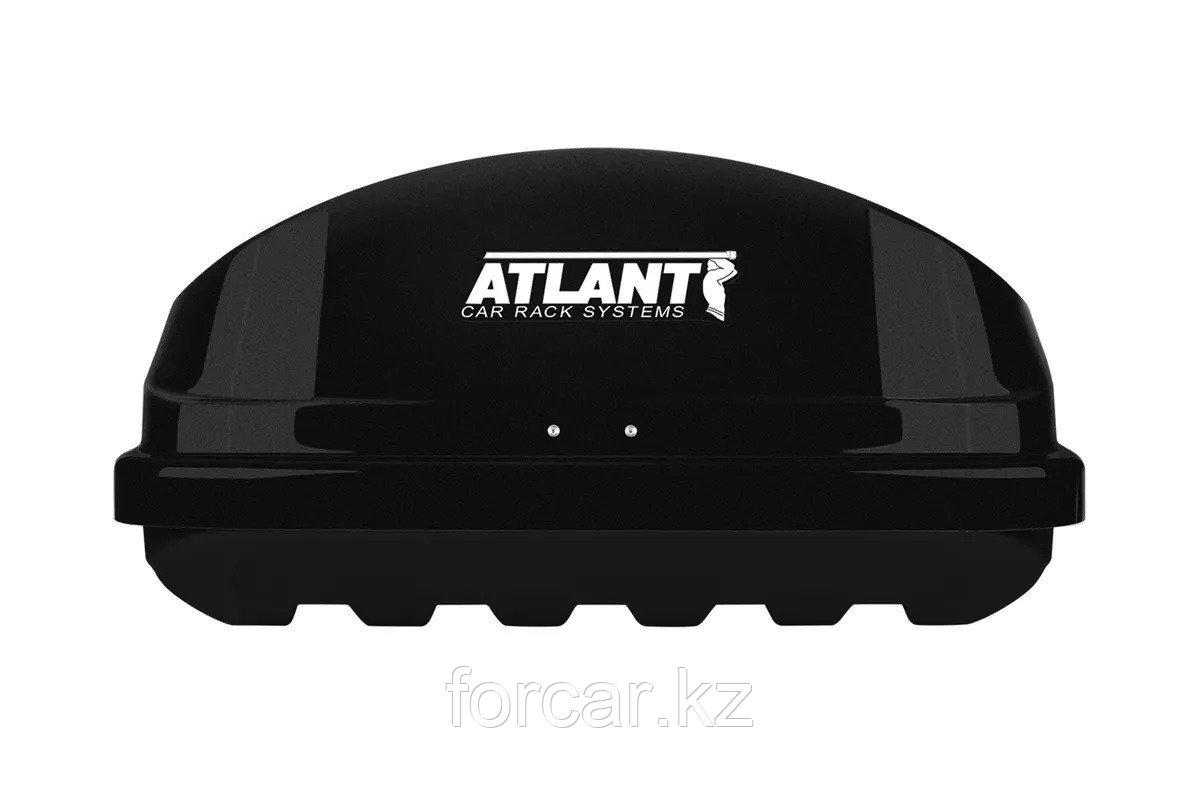 Автобокс Diamond 500 черный матовый 220x80x44 с двусторонним открыванием - фото 3