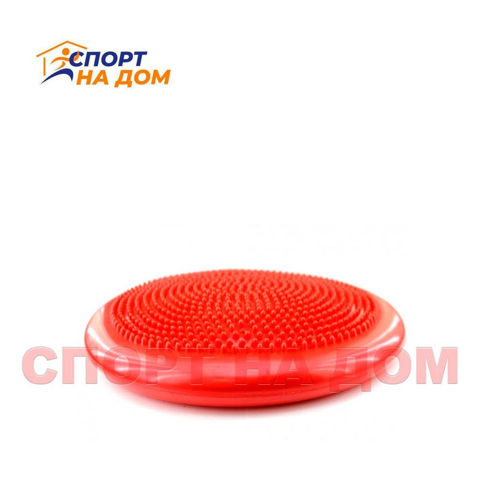Балансировочная массажная подушка (цвет красный)
