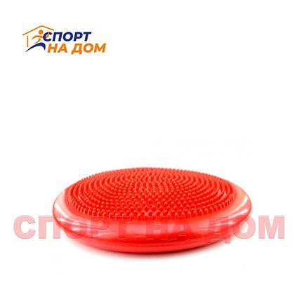 Балансировочная массажная подушка (цвет красный), фото 2