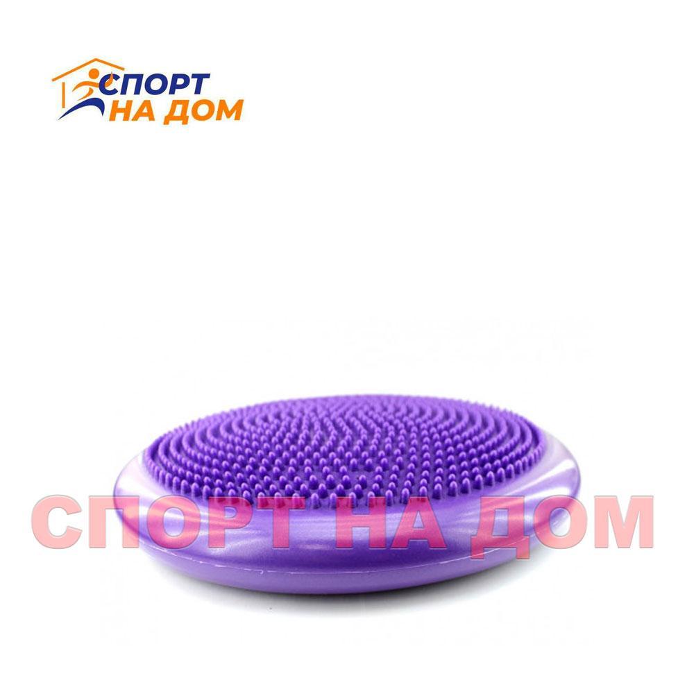 Балансировочная массажная подушка (цвет фиолетовый)
