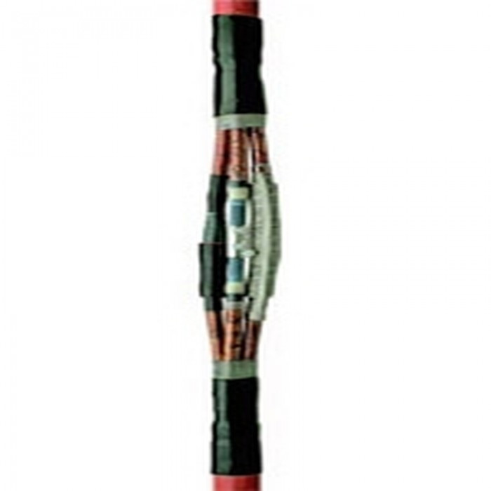 Соединительные муфты для экранированных трехжильных кабелей с пластмассовой изоляцией с броней 240-400