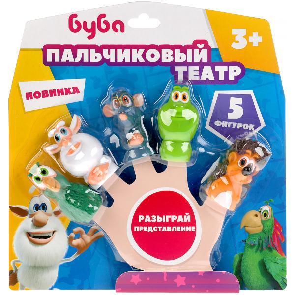 Игрушки для ванной Капитошка «Буба», 5 фигурок