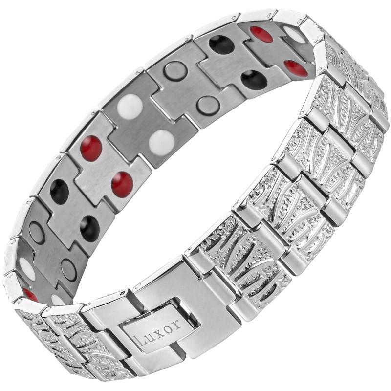 Магнитный браслет Био Баланс silver