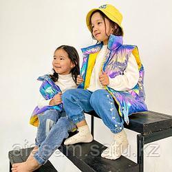 Детские стильные жилетки