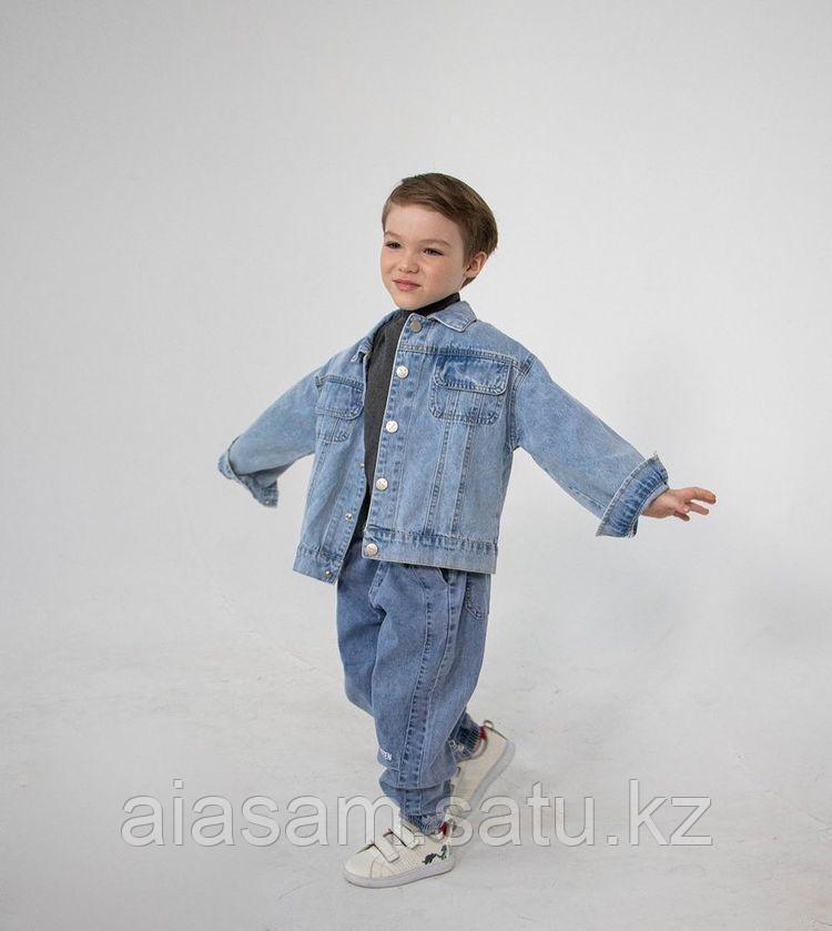 Детский джинсовый костюм для мальчика