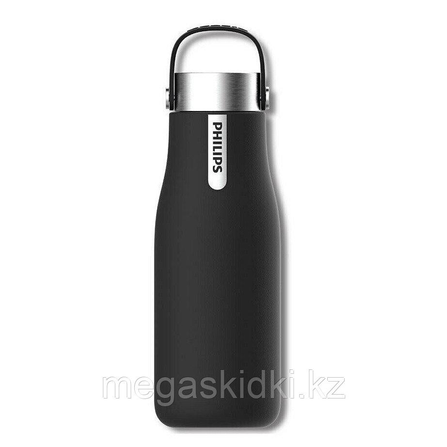 Фильтр-бутылка с УФ-стерилизатором Philips AWP2787BK/10 (355 мл) черный