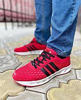 Кросс adidas climacool красные