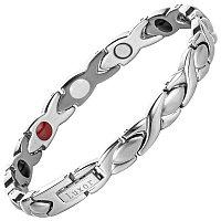 Магнитный браслет Женская Хитрость silver
