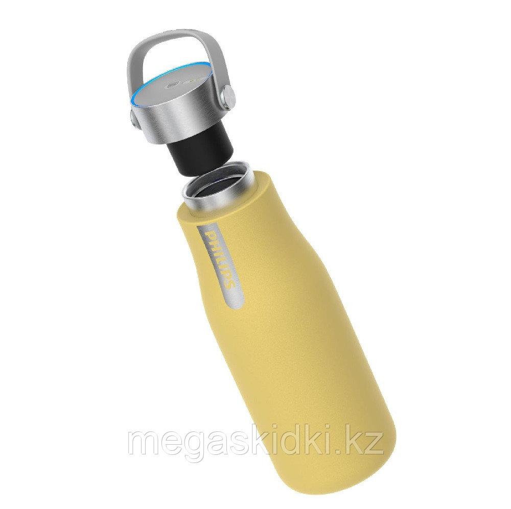 Фильтр-бутылка с УФ-стерилизатором Philips AWP2787YL/10 (355 мл) желтый