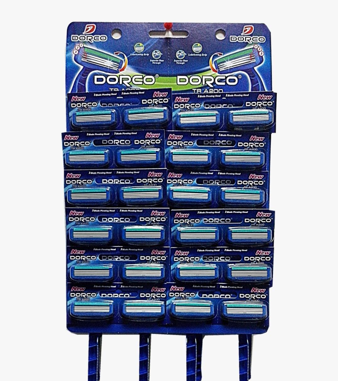 Dorko станки для бритья 3лез со смаз. На планшете