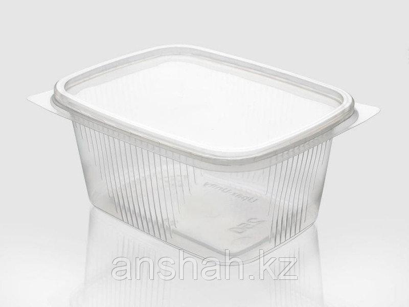 Одн. посуда с крышкой прозр. 500мл