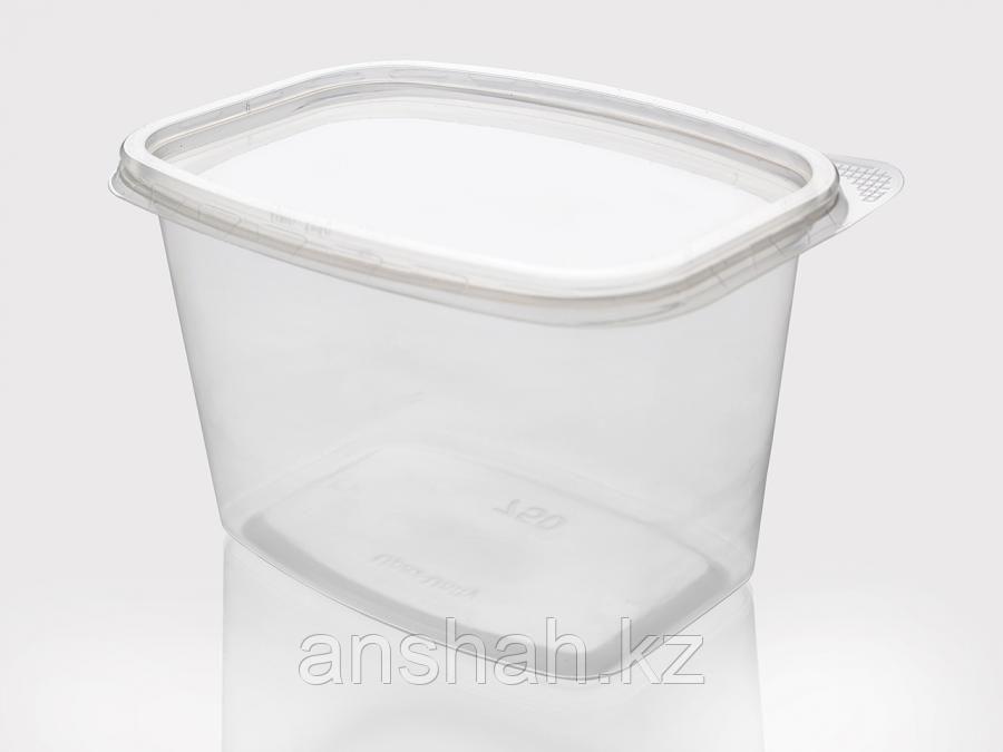 Одн. посуда с крышкой прозр. 750мл