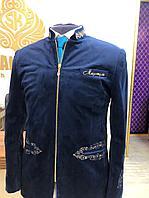 Мужской пиджак с именной вышивкой