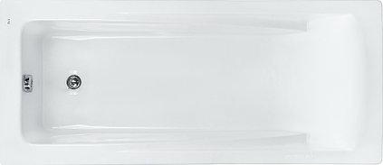 ВАННА Roca А/В ПРЯМОУГОЛЬНАЯ HALL ZRU9302768 170Х75 БЕЛАЯ (Без монтажного комплекта)(ZRU9302768)