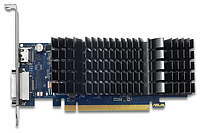 Видеокарта 2Gb PCI-E GDDR5 ASUS GT1030-SL-2G-BRK DVI+HDMI ASUS
