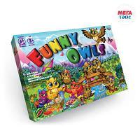 Настольная развлекательная игра серии Funny Owls (10 шт)