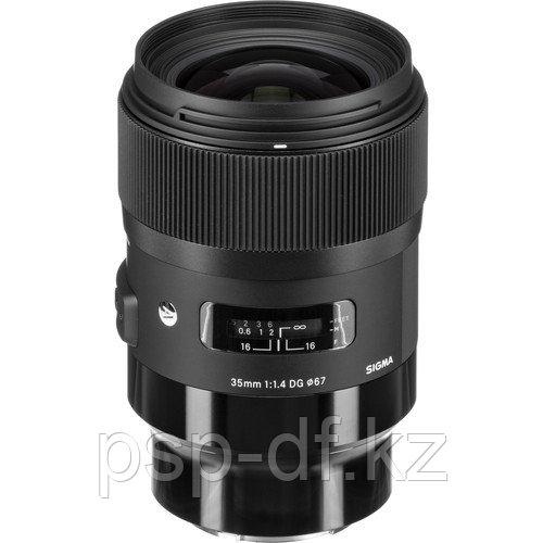 Объектив Sigma 35mm f/1.4 DG HSM Art для Sony E