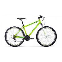 """Велосипед FORWARD SPORTING 27,5 1.2 (27,5"""" 21 ск. рост 17"""") 2020-2021, зеленый/бирюзовый, фото 1"""