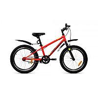 """Велосипед FORWARD UNIT 20 1.0 (20"""" 1 ск. рост 10.5"""") 2020-2021, красный матовый"""