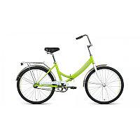 """Велосипед FORWARD VALENCIA 24 2.0 (24"""" 6 ск. рост 16"""" скл.) 2020-2021, зеленый/серый, фото 1"""
