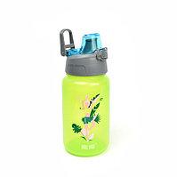 "Bool-bool Бутылка для воды и других напитков ""HAND FREE BOTTLE"" mini,""ВРЕМЯ ЙОГИ"", зеленая"