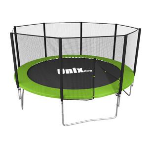Батут UNIX line Simple 12 ft Green (outside) - фото 1