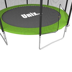 Батут UNIX line Simple 12 ft Green (outside) - фото 5