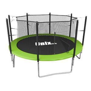 Батут UNIX line Simple 12 ft Green (inside) - фото 1