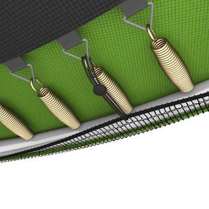 Батут UNIX line Simple 12 ft Green (inside) - фото 9