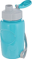 "Bool-bool Бутылка для воды и других напитков ""HEALTH and FITNESS"" со шнурком, 350 ml. anatomic, в"