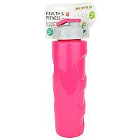 "Wowbottles Бутылка для воды и других напитков ""HEALTH and FITNESS"" со шнурком, 700 ml. anatomic,"