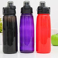Wowbottles Бутылка для воды и других напитков с автоматической крышкой, 750 мл, цвета в ассортименте. -