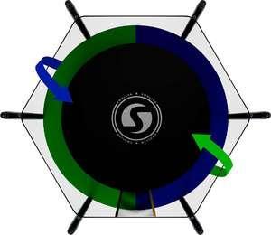 Батут SWOLLEN Classic 6 FT диаметр 183 см - фото 3