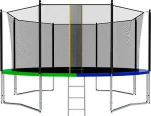 Батут SWOLLEN Classic 14 FT диаметр 427 см - фото 1