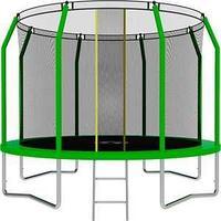 Батут SWOLLEN Comfort 12 FT (Green) диаметр 366 см