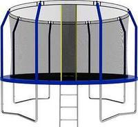 Батут SWOLLEN Comfort 12 FT (Blue) диаметр 366 см