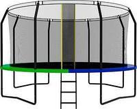 Батут SWOLLEN Prime Black 14 FT диаметр 427 см