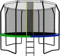 Батут SWOLLEN Prime Black 12 FT диаметр 366 см