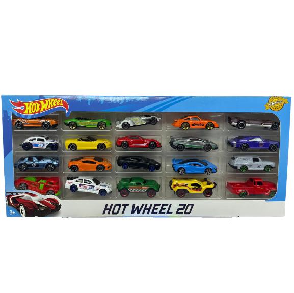 """Набор игрушечных машинок """"Hot Wheel"""" 20 шт"""