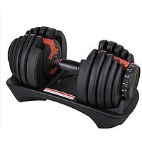 Регулируемая гантель 24кг York Fitness BF24