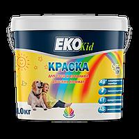 Eko KID (Эко Кид), гипоаллергенная краска для детских комнат и помещений