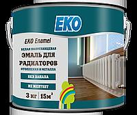 Eko Enamel, эмаль для металла и радиаторов отопления 3кг