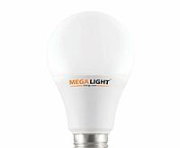 """LED ЛАМПА A60 """"Standart"""" 10W 900Lm 230V E27 MEGALIGHT"""