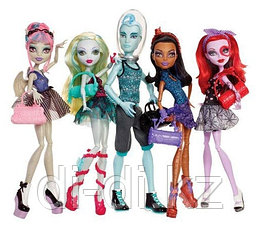 Mattel Куклы Monster High Набор из 5 кукол dance Class BBR89