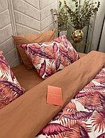 Комплект постельного белья (Поплин) пальмы