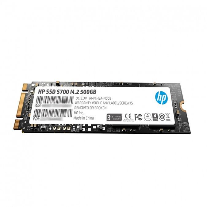 Жесткий диск SSD 500GB HP S700 M.2