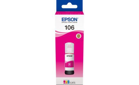 Чернила Epson C13T00R340  для L7160/L7180 пурпурный