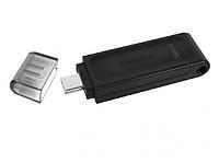 USB Флеш 128GB 3.0 Kingston DT70/128GB черный