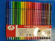 Набор капиллярных ручек Fine Line marker 24 цветf